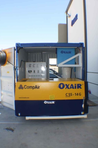 Oxair Self-contained  Portable Nitrogen Membrane