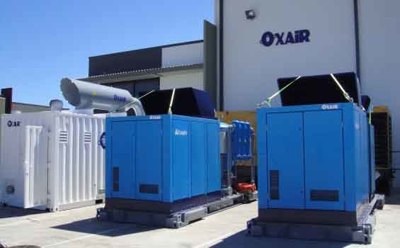 Oxair Containerised High Flow Nitrogen Membrane