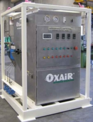 Oxair Mobile Nitrogen Membrane in a Lift Frame for Offshore
