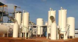 Twin 5 tonne oxygen plant at a Gold mine